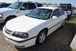 Lot: 01-53023 - 2003 CHEVROLET IMPALA - NON-REPAIRABLE<BR><span style=color:red>Updated 10/11/18</span>