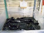 Lot: 407 - KEYBOARDS, MOUSE, COMPUTER SPEAKERS (BIN NOT INCLUDED)