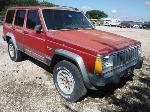 Lot: 12-623055C - 1989 JEEP CHEROKEE SUV