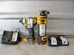 Lot: 208 - IMPACT DRIVER, TOOL BAG, WRENCH, CHARGER