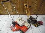 Lot: A7480 - GAS MOWER AND EDGER