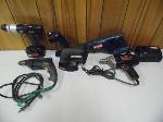 Lot: A7481 - GROUP OF POWER TOOLS