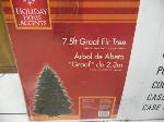 Lot: A7483 - GROUP OF (2) FAKE CHRISTMAS TREES