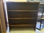 Lot: 13&14.BE - (2) Chairs, Wooden Shelf & (4) Lounge Chairs