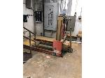 Lot: 22.BE - Cadillac Frame, Heavy Pallet Jack & Cylinders