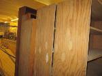 Lot: 31&32.SP - (5) Wood Shelves, (2) L-Shaped Desks & Metal Cabinet