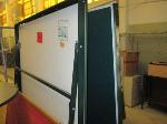 Lot: 33.SP - Desks, Folding Machine, Pingpong Table, Signs, Pamphlet Holders