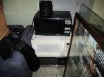Lot: 37&38.SP - Chair Cushions, Keyboard Holders, Microwaves, Toasters, Couches