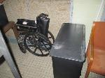 Lot: 39.SP - Office Supplies, Table, Laminator, Water Bottles, Chair, Wheelchair & MORE