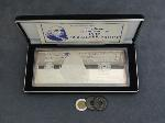 Lot: 6313 - 1997 SILVER PROOF $100 .999 & FOREIGN COINS