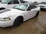 Lot: 19-209651 - 2001 FORD MUSTANG