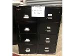 Lot: 2008 - (2) Fire Proof File Cabinets