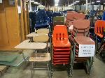 Lot: 712 - (80 APPROX) DIFFERENT SIZES OF CHAIRS