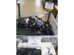 Lot: 718 - CORD AND CABLES, COMPUTER KEYBOARDS, MOUSE AND SPEAKERS