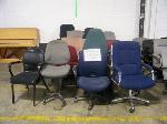 Lot: 732 - (18 APPROX) DIFFERENT COLORS AND SIZES OFFICE CHAIRS