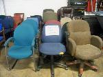 Lot: 734 - (15 APPROX) DIFFERENT COLORS AND SIZES OFFICE CHAIRS