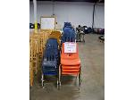 Lot: 735 - (60 APPROX) DIFFERENT COLORS AND SIZES CHAIRS