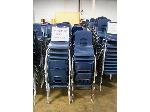 Lot: 739 - (190 APPROX) SMALL SIZE BLUE CHAIRS