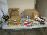 Lot: 1861 - Assorted Parts, Battery Cables, Belts