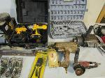 Lot: 1862 - Tools: Impact, Air Nailer, Grinder, Sander