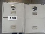 Lot: 188 - (2) Schwab 5000 Trident Safes