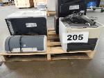Lot: 205 - (5) Printers & Sound Station