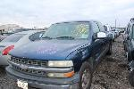 Lot: 56341.SWBS - 2002 CHEVY SILVERADO PICKUP - KEY / STARTS