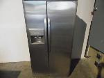 Lot: A7509 - Kenmore Stainless SidebySide Refrigerator