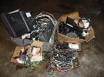 Lot: A7518 - Group of Electronics: Monitor and Speakers