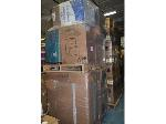 Lot: 822 - (2 Pallets) of Furniture: Chairs, File Cabinets