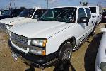 Lot: 04-136513 - 2005 Chevrolet Silverado 1500 Pickup - Key / Runs
