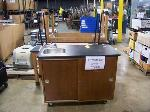 Lot: 809 - SCIENCE SINK & (5) TABLES