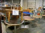 Lot: 864 - (7) ROUND TABLES