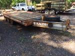 Lot: 4.TYLER - 1990 Kalyn Utility Trailer