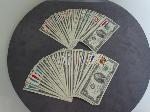Lot: 25 - APPROX. (63) 1976 STAMPED $2 BILLS