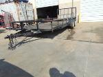 Lot: B8080589 - UNKNOWN YEAR HOMEMADE TRAILER