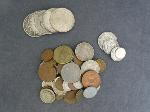 Lot: 6412 - MORGAN & PEACE DOLLARS & FOREIGN COINS