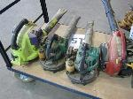 Lot: 15 - (4) GAS POWERED LEAF BLOWERS