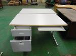 Lot: 87.UV - (3) BOOKCASES, (2) DESKS, (2) ROLLING CHAIRS