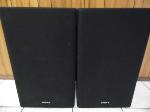 Lot: A7544 - Pair of Gloss Black Sony Bookshelf Speakers