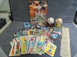 Lot: 448 - SPORTS CARDS, BASEBALLS, PHOTO & MEDAL <BR><span style=color:red>No Credit Cards Accepted! CASH OR WIRE TRANSFER ONLY!</span>