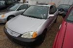Lot: 18-58058 - 2002 HONDA CIVIC - KEY / RUNS/DRIVES