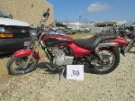 Lot: 30 - 2002 Kawasaki BN125 Motorcycle