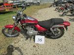 Lot: 35 - 2002 Kawasaki BN125 Motorcycle