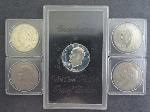 Lot: 79 - PEACE & EISENHOWER DOLLARS