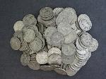 Lot: 87 - APPROX. (143) QUARTERS - SILVER