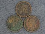 Lot: 109 - LARGE ONE CENT PIECES