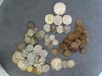 Lot: 6540 - MORGAN DOLLAR, KENNEDY HALVES, DIMES & PENNIES