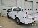 Lot: V112 - 2008 Ford F-250 Utitity Body Truck - Ran & Drove at Test