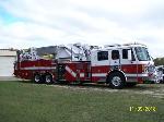 Lot: V120 - 2001 American LaFrance Ladder Truck - Ran & Drove at Test